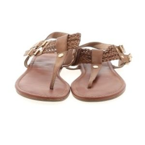 ALTAR'D STATE brown leather louise sandals size 10